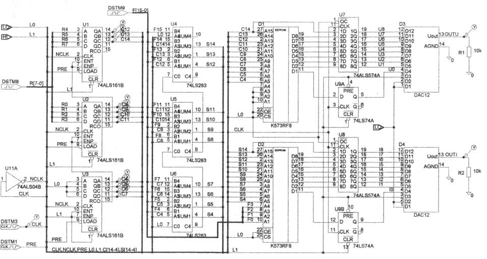 Рисунок 4 Схема электрическая