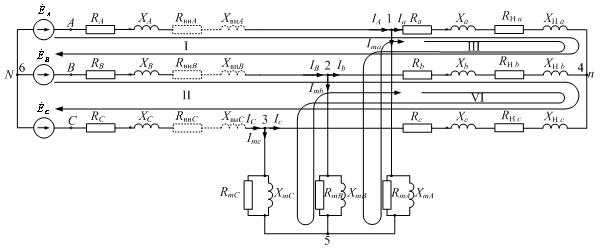 Т-образная схема для одной